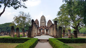 Ancient building in Sukhothai. Thailand royalty free stock photography