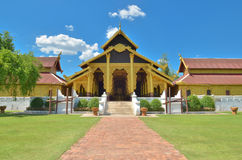Ancient building at Surasri Camp Royalty Free Stock Image