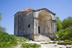 Mausoleum of  Dzhanike-Khanym, daughter of Tokhtamysh Royalty Free Stock Photos
