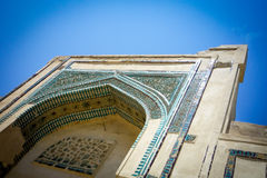 Ancient the building of the 14th century in the muslim religious style Stock Photo
