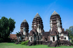 Ancient building in Thailand Stock Photos