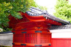 Ancient building in tokyo university. Tokyo university is best among asia and more than 100 year old Royalty Free Stock Photography