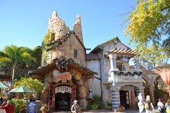 Ancient Building in Universal Orlando Stock Image