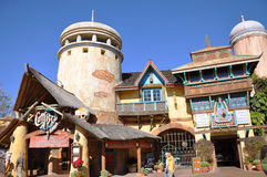 Ancient Building in Universal Orlando Royalty Free Stock Photography