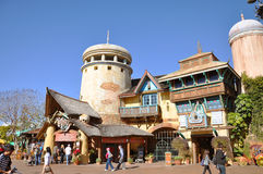 Ancient Building in Universal Orlando Royalty Free Stock Photo
