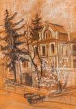 ancient buildings Στοκ Εικόνες