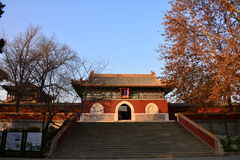 Ancient buildings in Beihai Park Royalty Free Stock Image