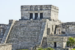 Ancient buildings built by the Mayas Royalty Free Stock Photography