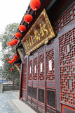 Ancient buildings in chengdu, china Royalty Free Stock Photo