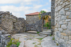 Ancient buildings in Croatia Royalty Free Stock Photography