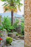 Ancient buildings in Croatia Royalty Free Stock Image