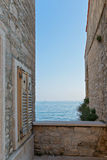 Ancient buildings in Croatia Royalty Free Stock Photo