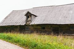 The ancient buildings of the early twentieth century that have survived to this day. Old housechkspelldocument_s. The ancient buildings of the early twentieth royalty free stock photography