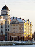 Ancient buildings in Kaliningrad Royalty Free Stock Photos