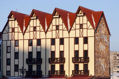 Ancient buildings in Kaliningrad Stock Image