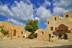Ancient buildings of old Jaffa Israel Royalty Free Stock Image
