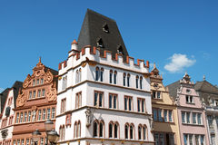 Ancient buildings in the old town of Trier Stock Photography