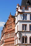 Ancient buildings in the old town of Trier Stock Image