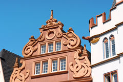 Ancient buildings in the old town of Trier, Germany Royalty Free Stock Photography