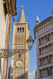 Ancient buildings in Parma Stock Photography