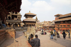 Ancient Buildings, Patan Durbar Square, Nepal Stock Images