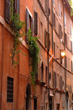 Ancient buildings in rome, italy Royalty Free Stock Photography