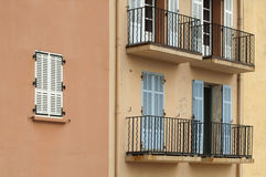 Ancient buildings in St. Tropez Royalty Free Stock Image