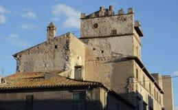 Ancient buildings in Tarquinia Stock Photo