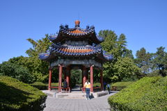 Ancient buildings in Tiantan Stock Photo