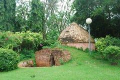 Ancient built kilns Stock Photo