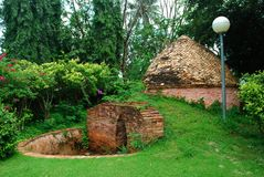 Ancient built kilns Stock Photos