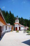 Ancient Bulgarian monestary Stock Images