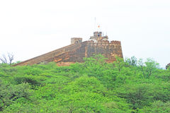 Ancient bundi fort and palace india Royalty Free Stock Photo