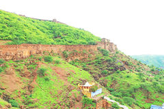 Ancient bundi fort and palace india Royalty Free Stock Photography