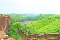 Ancient bundi fort and palace india Royalty Free Stock Photos