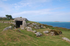 Ancient burial chamber Royalty Free Stock Photo