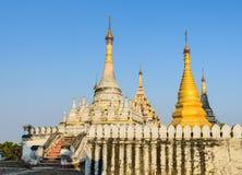 Ancient Burmese pagoda, Myanmar stock photos
