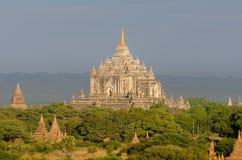 Ancient That Byin Nyu Pagoda in plain of Bagan. Stock Images