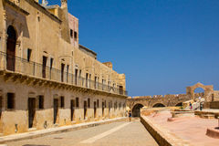 Ancient Byzantine fortress in the city of Chania. Royalty Free Stock Photography