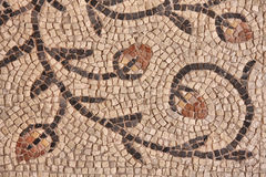 Ancient byzantine mosaic Royalty Free Stock Photo