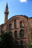 Ancient Byzantium Church. Mosque named �Kalenderhane� (ancient Byzantium church Kiriotissa), Istanbul, Turkey royalty free stock photography