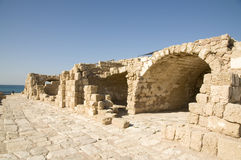 Ancient Caesarea Stock Photos