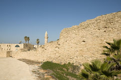 Ancient Caesarea Stock Photography