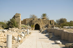 Ancient Caesarea Stock Image