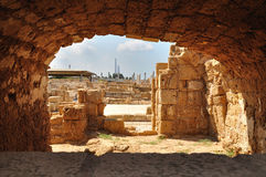 Ancient Caesarea. Royalty Free Stock Photo