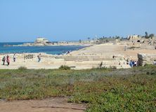 Ancient  Caesarea Royalty Free Stock Photo