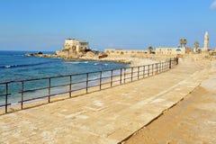 Ancient Caesarea Israel Stock Photo