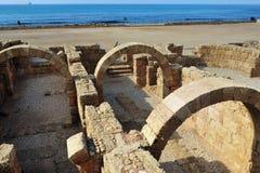 Ancient Caesarea Israel Stock Photography
