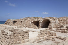Ancient Caesarea. Israel Stock Images