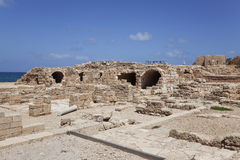 Ancient Caesarea. Israel Stock Photography